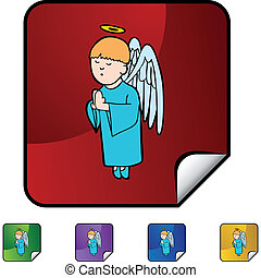 Praying Boy Angel
