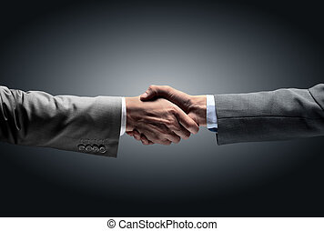 in a sign of partnership and cooperation - to reach each...