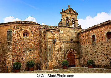 Caceres St Paul convent in Spain Extremadura Convento de San...