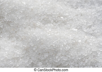 Sea salt crystals background