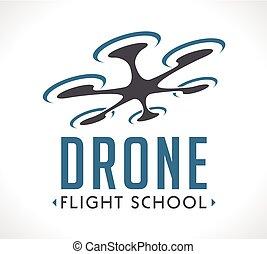 Logo - drone flying school