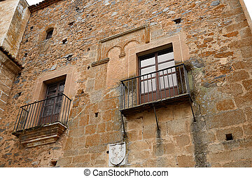 Caceres monumental city Extremadura Spain - Caceres...