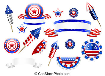 Decoration items 4th of July