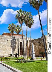 Merida in Spain Alcazaba in Extremadura Badajoz