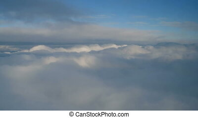 Low light cloudscapes. These are real organic clouds, shot...
