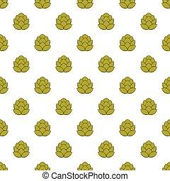 Hops pattern, cartoon style - Hops pattern. Cartoon...