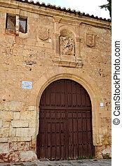 Santa Maria las Buenas convent in Salamanca of Spain
