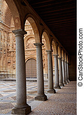 San Esteban Convent in Salamanca of Spain - San Esteban...