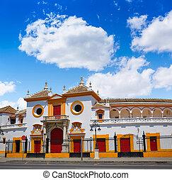 Seville Maestranza bullring plaza toros Sevilla - Seville...