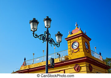 Puente Isabel II bridge in Triana Seville Spain - Puente...