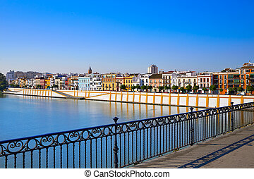 Triana barrio of Seville Andalusia - Triana barrio of...