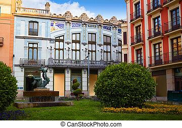 Zamora Santa clara street modernism in Spain - Zamora Santa...