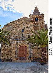 Aljucen church in Extremadura Spain - Aljucen church San...