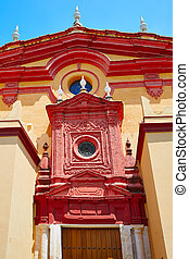 Triana barrio in Seville Santa Ana church spain - Triana...