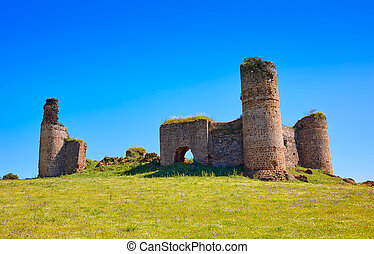 Castillo de las Torres castle by via de la Plata in...