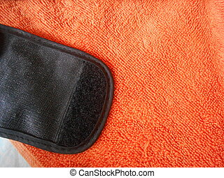 towel and velcro texture - towel and velcro material