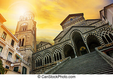 cattedrale of Sant'Andrea ,duomo of amalfi important...