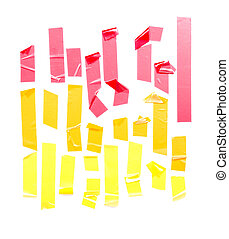 Set Of Strips Masking Tape