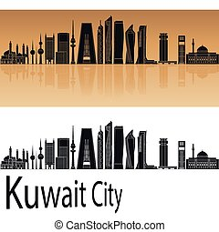 Kuwait City V2 skyline