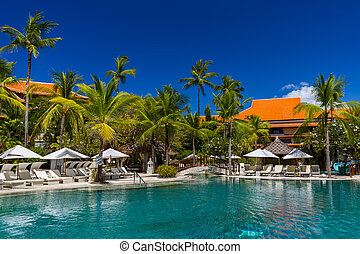 Nusa Dua resort in Bali Indonesia - nature vacation...