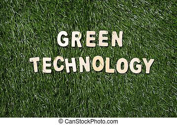 木制, 技術, 草, 綠色, 簽署
