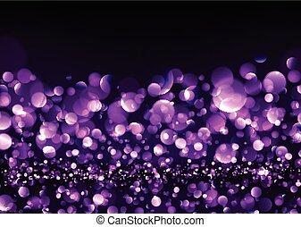 Abstract festive purple luminous background. Vector...