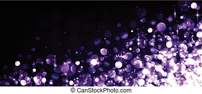 Abstract festive lilac luminous background. Vector...