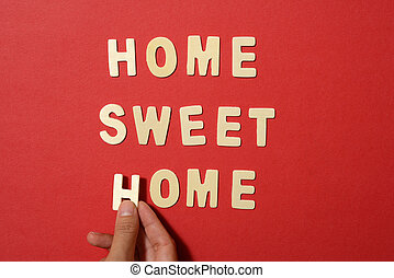 Home Sweet Home Text