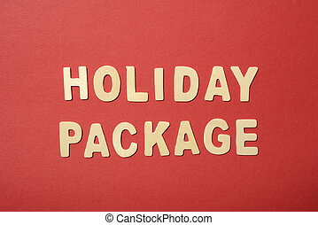 Holiday Package Text