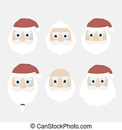 Santa Claus collection of Christmas.