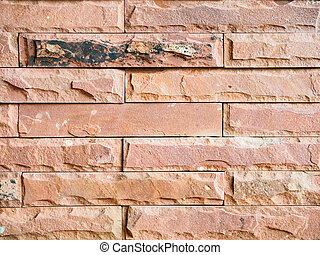 Orange brown brick wall background texture surface