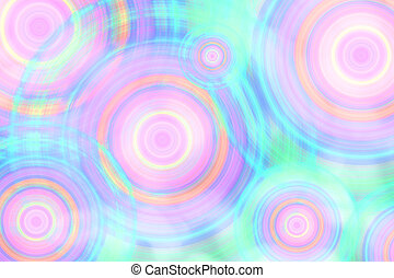 Abstract  cycle background, art color background