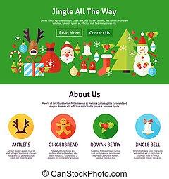 Christmas Jingle Web Design