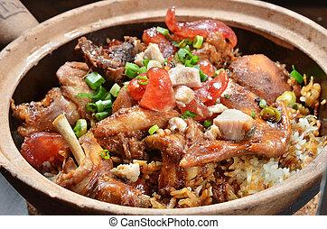 Rice Hot Pot