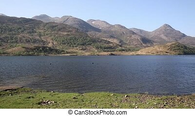 Loch Leven Scottish lake west coast of Scotland in Scottish...