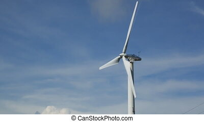 Windmill for electric power production in Thailand