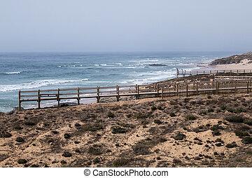 Malhao coastline on Alentejo