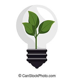 plant with bulb isolated icon vector illustration design