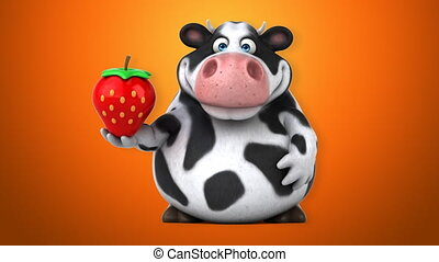 Fun cow - 3D Animation