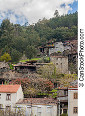 The schist village of Cerdeira located near Lousa, Portugal.