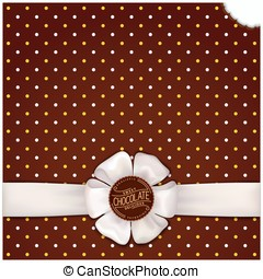 Chocolate wrapping design