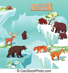 Ice age Clip Art and Stock Illustrations. 1,307 Ice age EPS ...