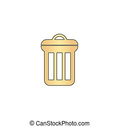 utilize computer symbol - utilize Gold vector icon with...
