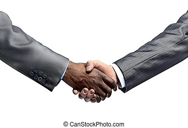 concept of partnership and confidence in the...