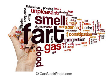 Fart word cloud concept - Fart word cloud