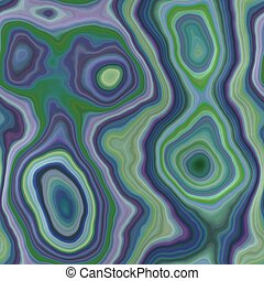 green, blue and purple marble agate stone seamless pattern...