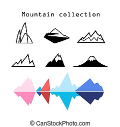 Vector Mountain set