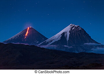 Eruption - Volcanic eruption on Kamchatka