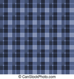 Blue Flannel Seamless Background - Blue Flannel Background...
