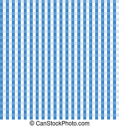 Blue Gingham Seamless Background - Blue Gingham Background...